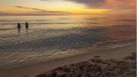 zachód słońca w Bobolinie