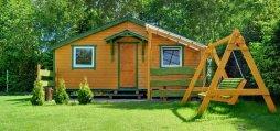 4-osobowy domek drewniany