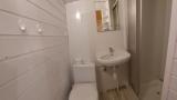 domek 4 osobowy, łazienka z toaletą